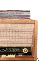 Vintage radio receiver