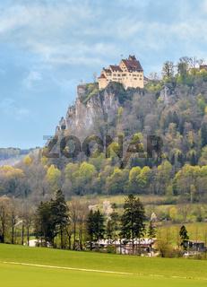 Schloss Werenwag im Donautal bei Beuron