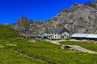 Berggasthaus Refuge de la Tour d'Anzeindaz, Alp Anzeindaz, Bex, Waadt, Schweiz