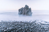 tranquil sea rock