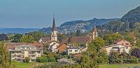 Mammern, Kanton Thurgau, Schweiz