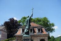 Bonifatius-Statue in Fulda