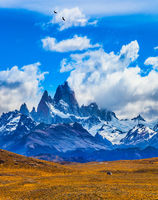 The famous ridge Mount Fitz Roy