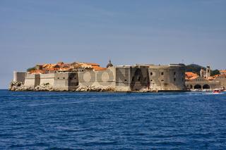 Die historische Altstadt von Dubrovnik