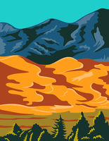 Great-Sand-Dunes-National-Park-POSTER-WPA