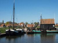 Holländischer Ort am Ijsselmeer