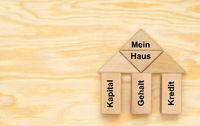 Mein Traumhaus mit Eigenkapital, Gehalt und Kredit