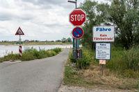 Kein Fährbetrieb wegen Niedrigwasser an der Elbe