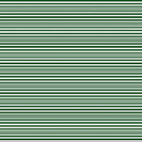Horizontal stripes in dark green and white