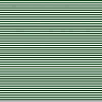 Horizontal stripes in dark green and white
