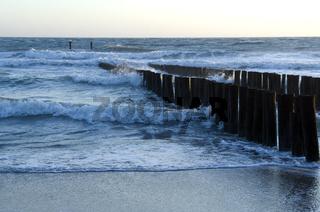 Buhnen; Nordsee