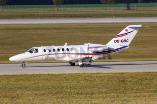 Airlink Cessna 525B CitationJet 3 Flugzeug Flughafen München in Deutschland