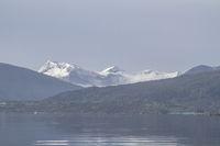 Norwegische Landschaft an der Atlantikstraße