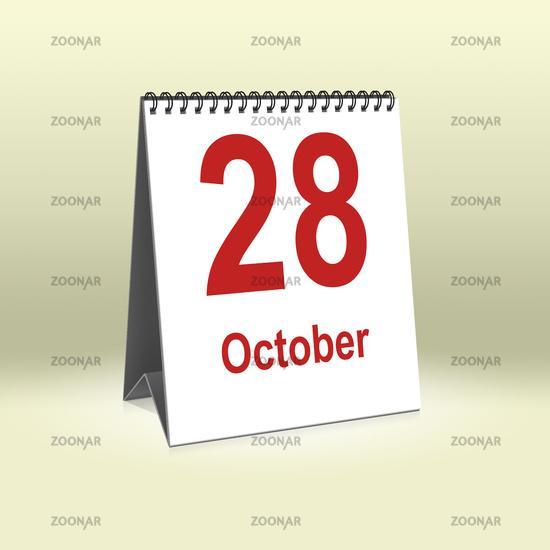 October 28th | 28.Oktober