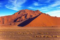 Orange, red and yellow dunes
