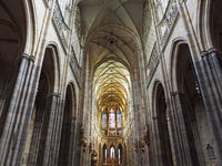 St.Vitus Cathedral, Prague, Czech republic