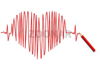 Herz EKG.eps