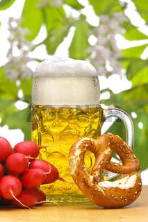 Bayern und Bier im Maßkrug