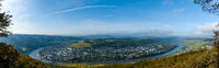 Panorama of the River Moselle