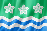 Cumberland County flag, UK