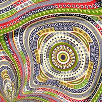 Tribal decorative design 10