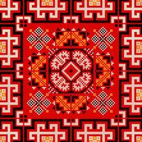 Romanian traditional pattern 173