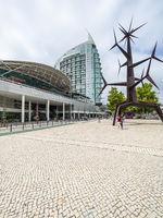 Centro Vasco da Gama shopping center at Oriente Station, Garo do Oriente, Lisbon, Portugal, Jul 2017