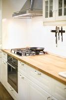 Light kitchen in modern style