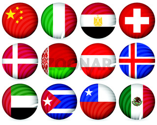 national circle icon collection 5