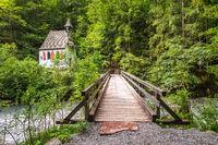 Blick auf die St Johann und Paul Kapelle im Berchtesgadener Land