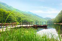 Morning on Biogradskoe Lake