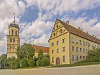 Glockenturm beim Schloss Heiligenberg