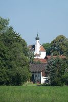 Kirche in Utting am Ammersee