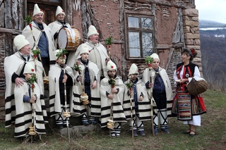 Koledari are Slavic traditional performers of a ceremony called koleduvane, a kind of Christmas caroling