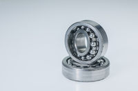 Two spherical roller bearings