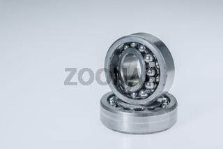 Two spherical roller bearings