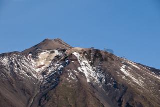 Pico de Teide, 3718m, Teneriffa, Kanaren, Spanien, Europa