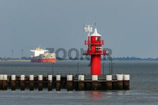 Leuchtturm, Brunsbüttel, Schleswig-Holstein, Nordsee, Deutschland