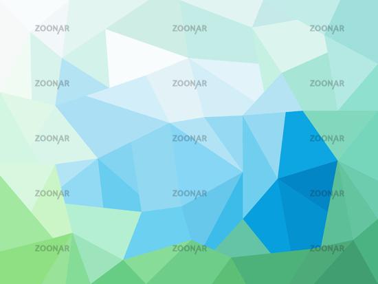 abstractgeometricgreenbluebackground