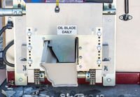 Aluminum Rain Gutter Feeding Through Seamless Shaping Machine