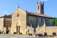 Parish church - Monteriggioni