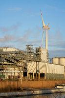 Industriehafen in Magdeburg