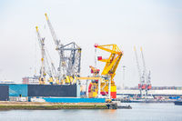 Rotterdam sea port