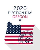 2020 Oregon vote card