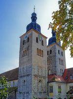 Benedictine abbey Plankstetten in Bavaria