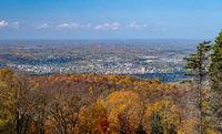 City of Uniontown from Dunbars Know near Jumonville, Pennsylvania