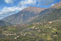Dorf Tirol,Suedtirol,Trentino,Italien