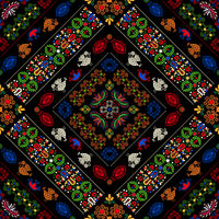 Hungarian embroidery pattern 40