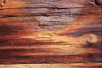 Old textures wooden peeled board with nails