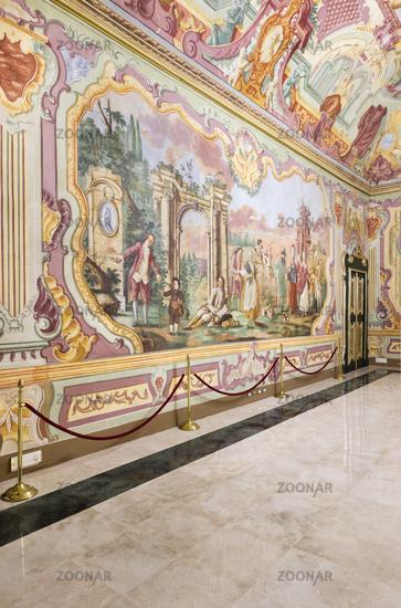 Sala dell'Arcadia, Palazzo Ducale, Martina Franca